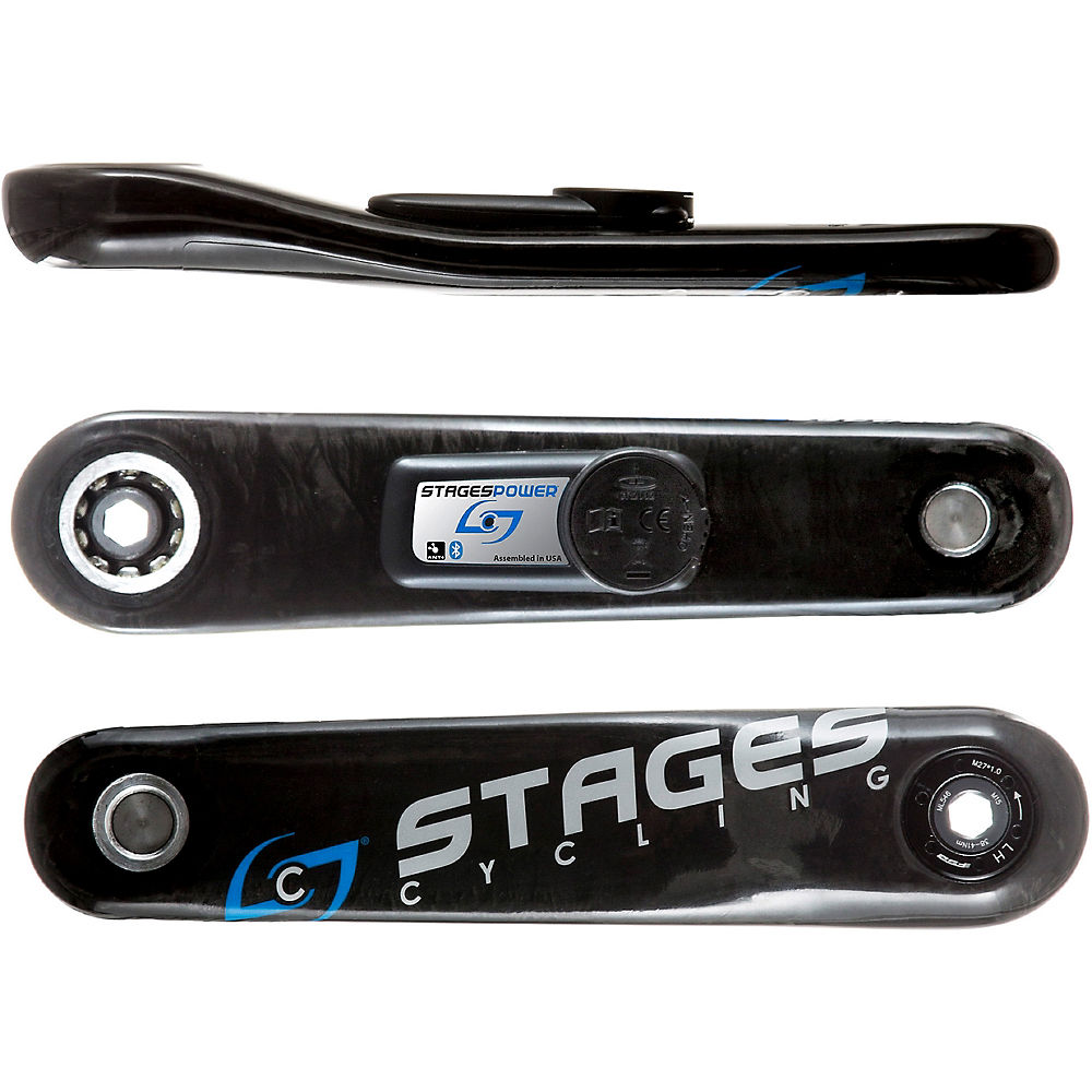 Stages Cycling Power G3 L - Stages Carbon Gxp Mtb - Black  Black