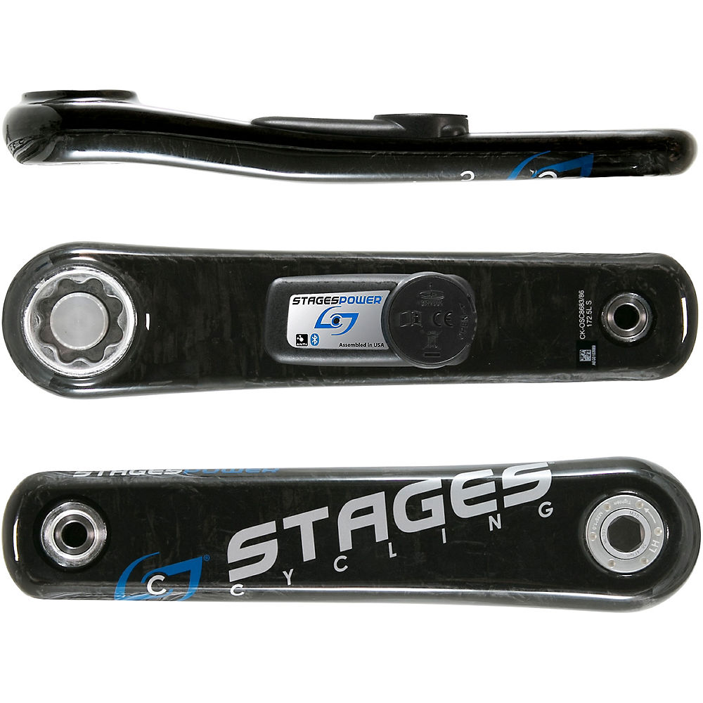 Stages Cycling Power Meter G3 L - Stages Carbon BB30 - Negro, Negro