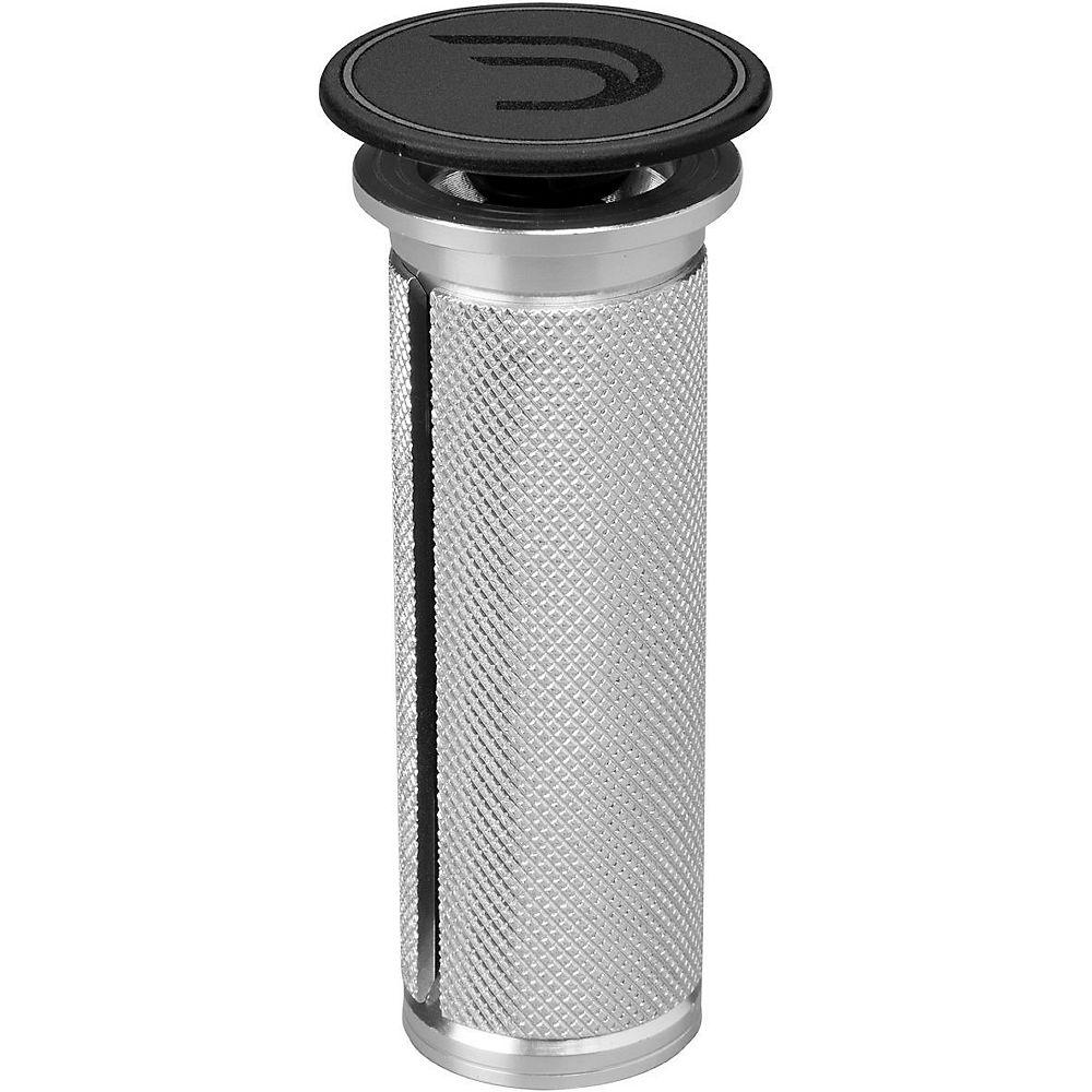 """Image of Bouchon d'extension Deda Elementi - Noir - Argent - 23.5x70mm 1""""1/8, Noir - Argent"""