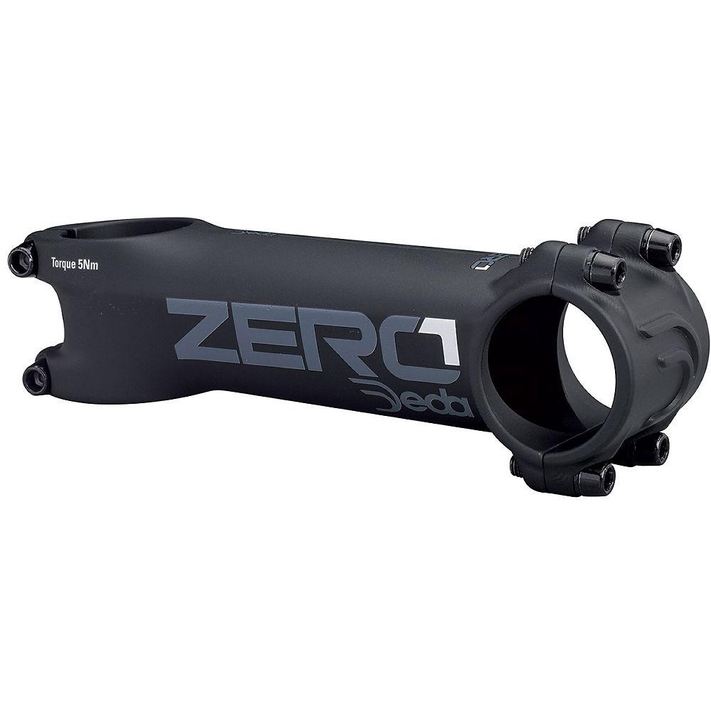 Deda Elementi Zero 1 Road Stem - Black on Black - 31.7mm, Black on Black