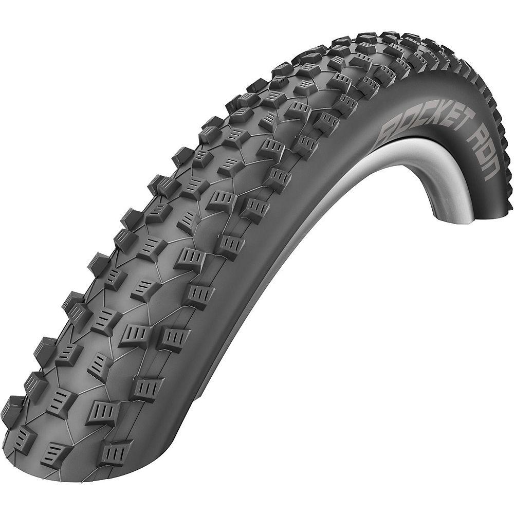 Schwalbe Rocket Ron Performance Addix MTB Tyre - Black - Folding Bead, Black