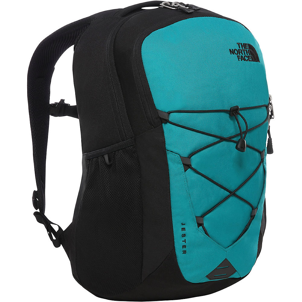 The North Face Jester Rucksack 2016 - Fanfare Green-TNF Black - One Size, Fanfare Green-TNF Black