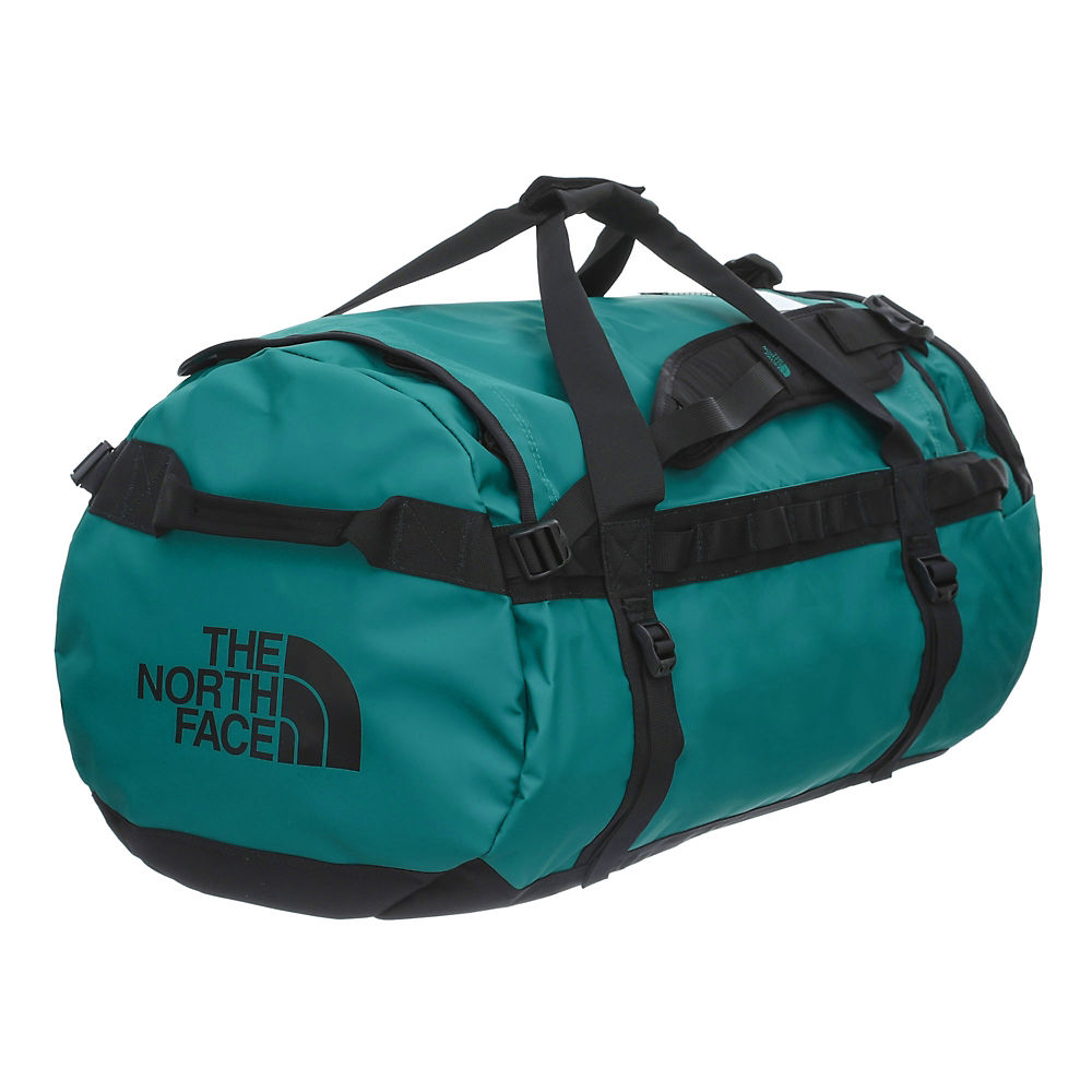 The North Face Base Camp Duffel (large) 2019 - Fanfare Green-tnf Black - One Size  Fanfare Green-tnf Black