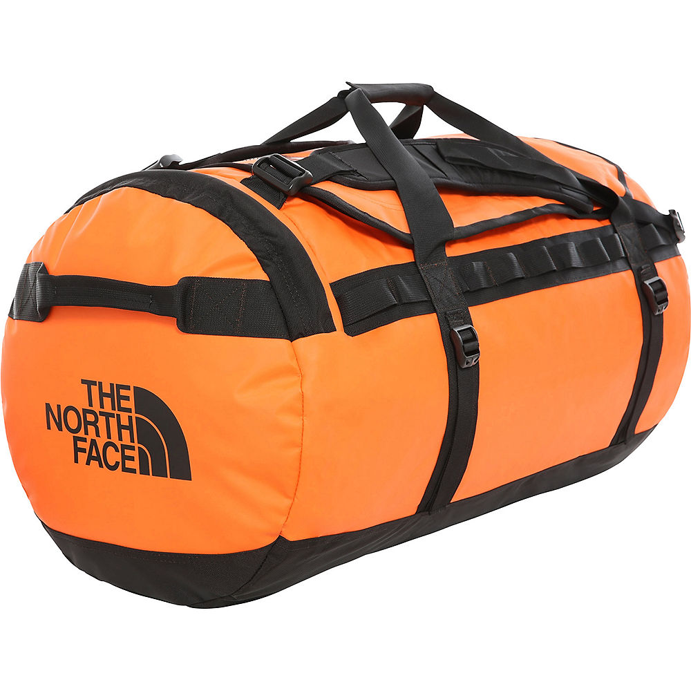 The North Face Base Camp Duffel (large) 2019 - Persian Orange-tnf Black - One Size  Persian Orange-tnf Black