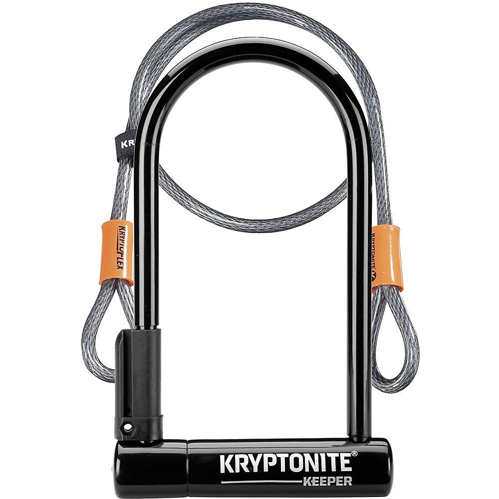 Image of Antivol en U Kryptonite Keeper 12 STD (et câble Kryptoflex) - Noir, Noir