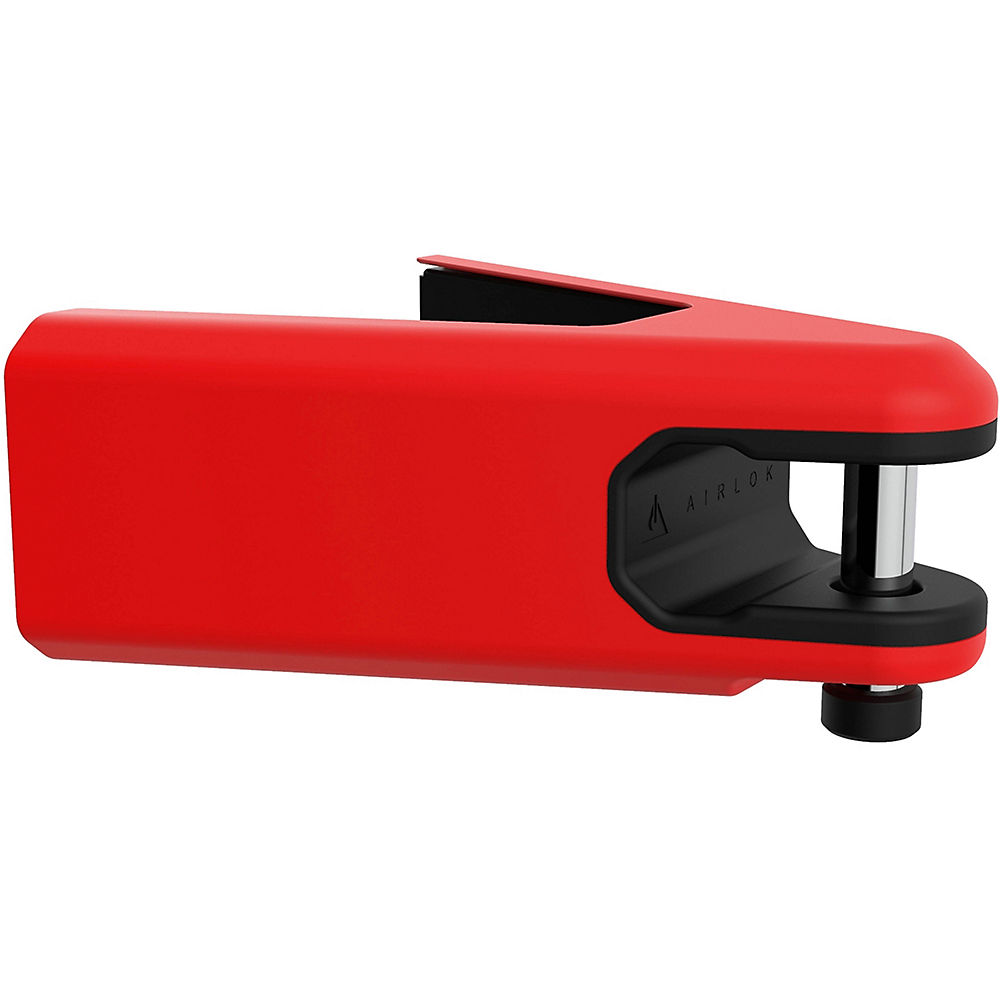 Colgador de pared con candado Hiplok AIRLOK - Rojo - Sold Secure Gold Rated, Rojo