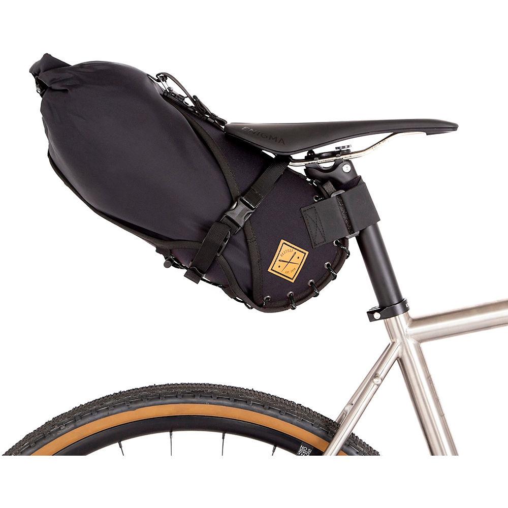 Restrap Saddle Bag Holster & Dry Bag – Black – 8L, Black