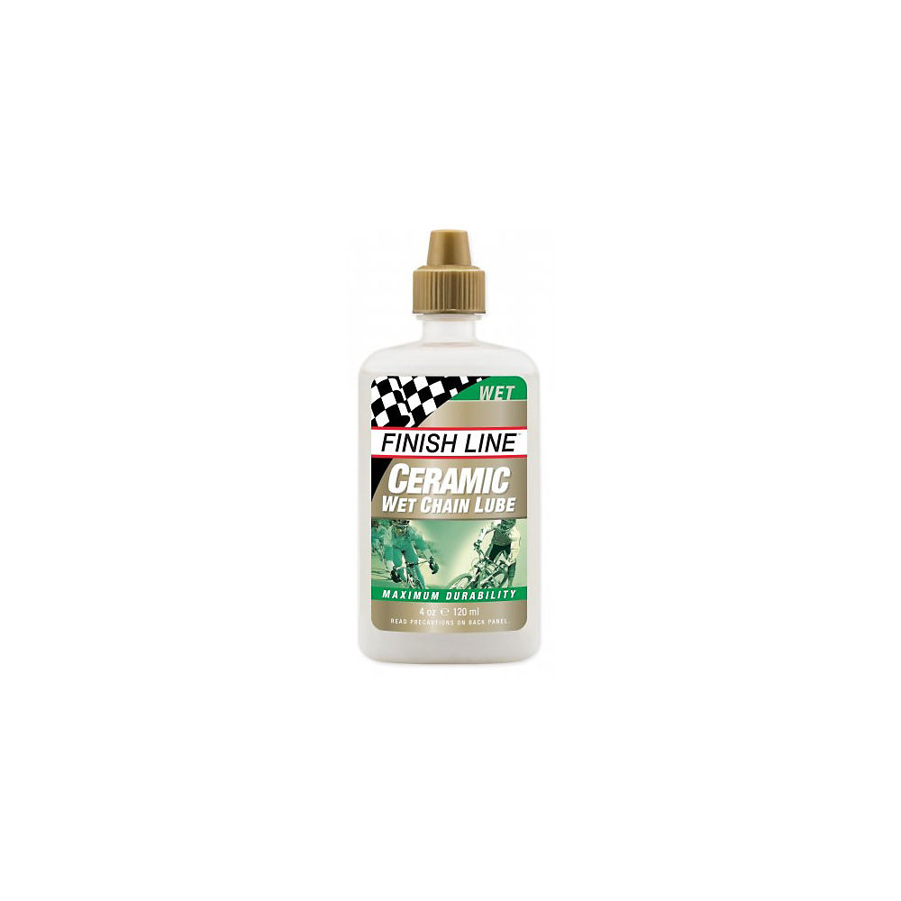 Finish Line Ceramic Wet Bike Chain Lube (120ml)