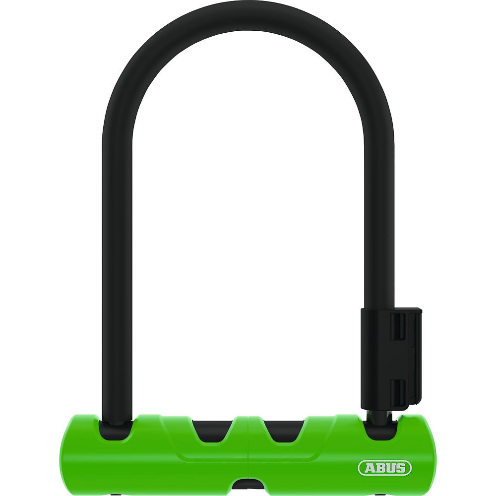 Abus Ultra 410 Mini D-Lock 140mm - Black-Green - Sold Secure Silver Rated, Black-Green
