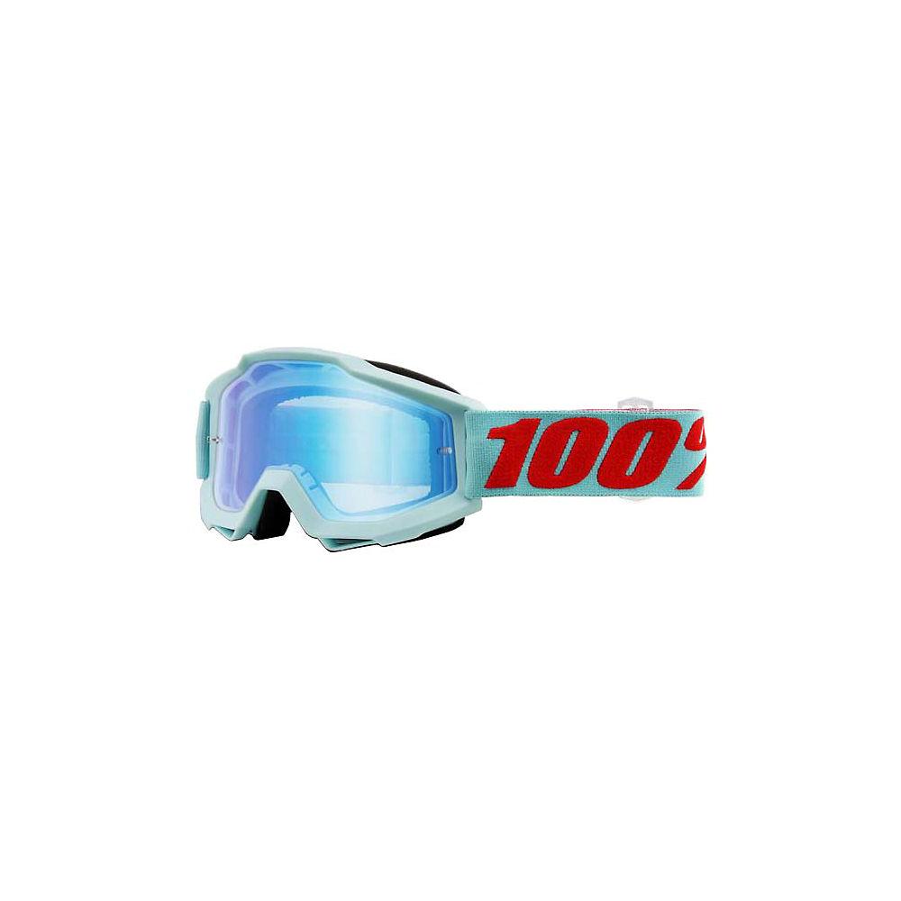100% Accuri Goggles - Mirror Lens - Maldives  - Mirror Blue Flash Lens, Maldives  - Mirror Blue Flash Lens