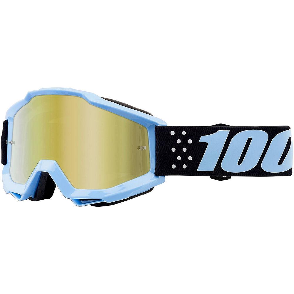 100% Accuri Goggles - Mirror Lens - Taichi  - Mirror Gold Lens, Taichi  - Mirror Gold Lens