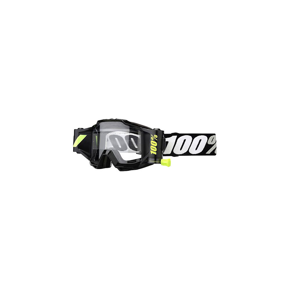 100% Accuri Forecast Youth Goggles  - Black  - Clear Lens, Black  - Clear Lens