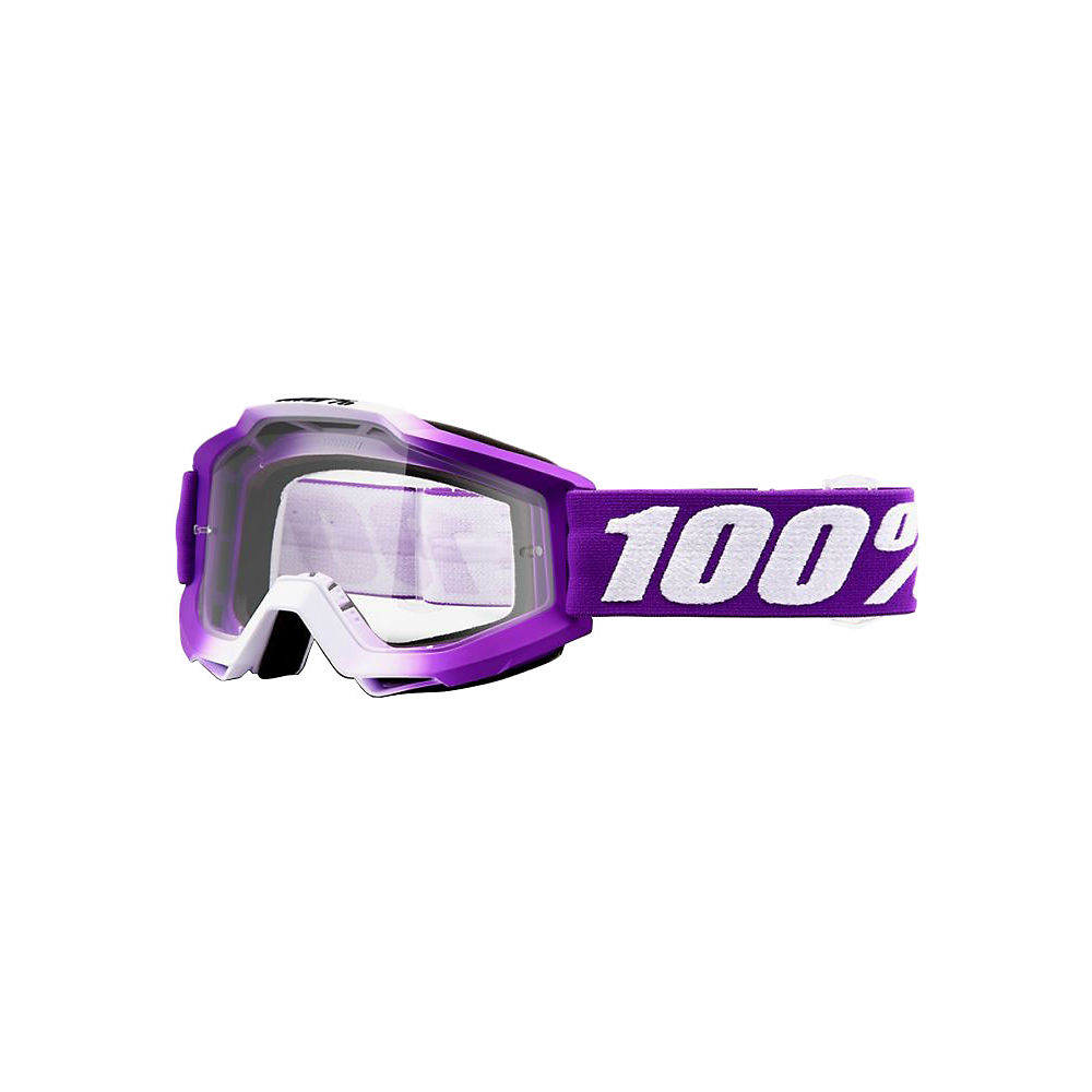 100% Accuri Goggles - Clear Lens - Framboise  - Clear Lens, Framboise  - Clear Lens