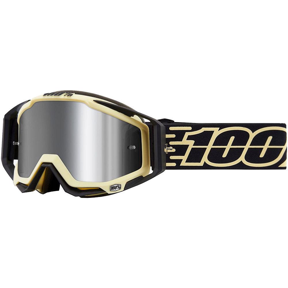 100% Racecraft Plus Goggles Mirror Lens  - Jiva  - Injected Silver Flash Mirror Lens  Jiva  - Injected Silver Flash Mirror Lens