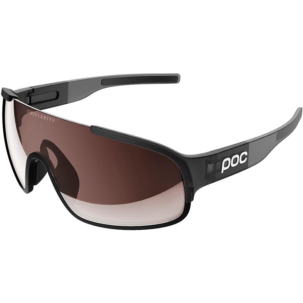 POC Crave Sunglasses Translucent - Uranium Black Translucent-Grey, Uranium Black Translucent-Grey