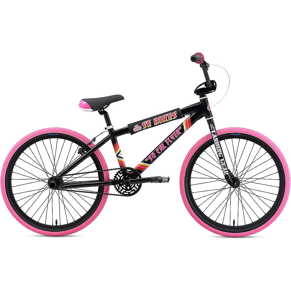 "Image of BMX SE Bikes SO CAL Flyer (24 pouces) 2020 - Noir - 21.4"", Noir"