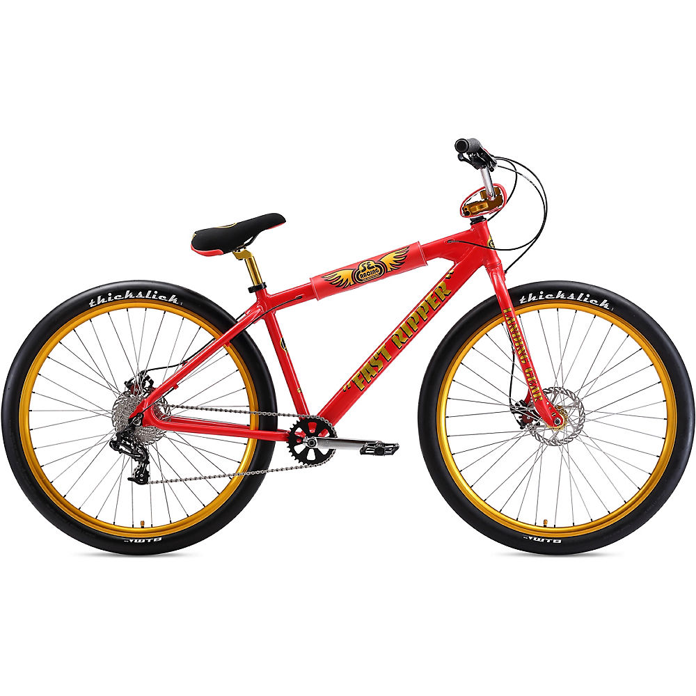 "Image of BMX SE Bikes Fast Ripper 29 2020 - Red Lightning - 23.5"", Red Lightning"