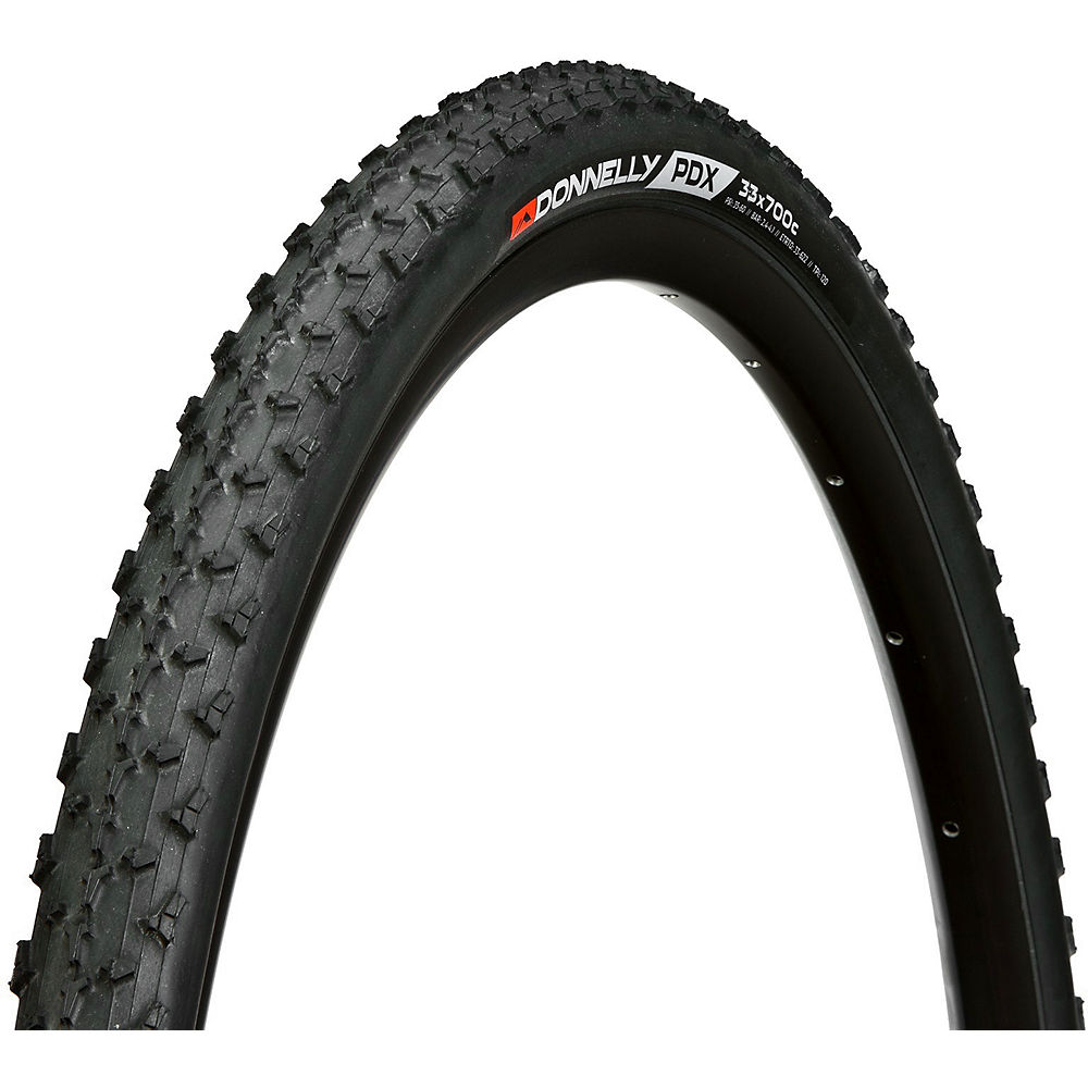 Image of Pneu de cyclo-cross Donnelly PDX 120TPI SC CX (souple) - Noir - 700c, Noir