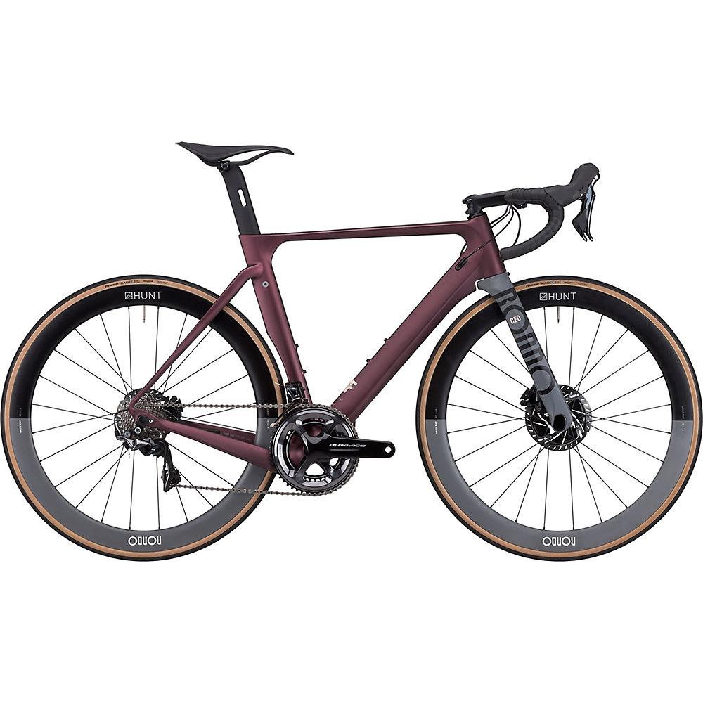 Bici da strada Rondo HVRT CF Zero 2020 - Purple-Grey - M