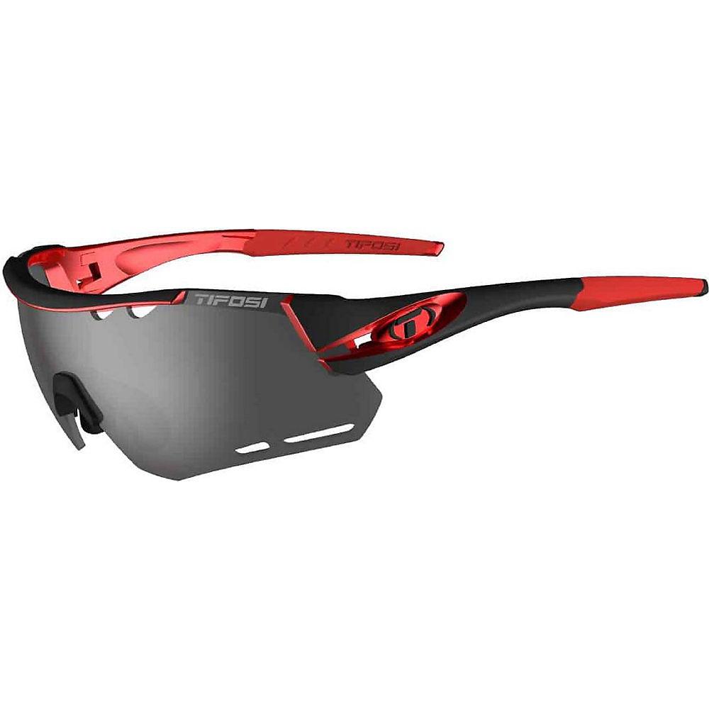 Tifosi Eyewear Alliant Interchangeable Lens 2018 - Black-red  Black-red