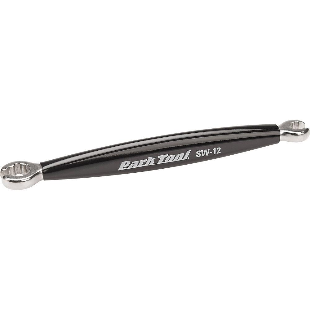 Image of Park Tool Double Ended Spoke Wrench SW-12 - Black - Mavic 7-Spline, Black