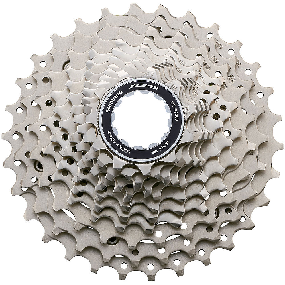 Shimano 105 R7000 11 Speed Cassette - Silver - 11-30t, Silver