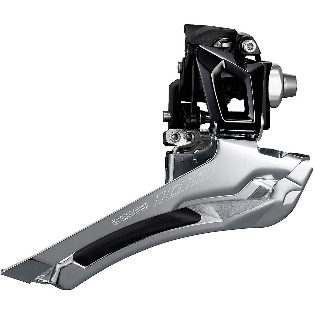 Shimano 105 R7000 11 Speed Road Front Derailleur - Black - 28.6mm/31.8mm, Black