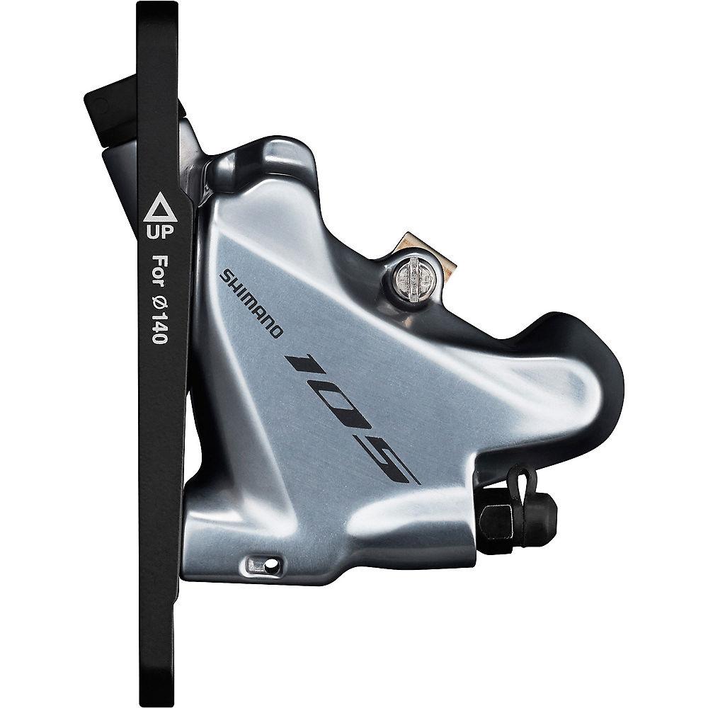 Shimano 105 R7070 Road Disc Brake Caliper - Silver - Front  Silver