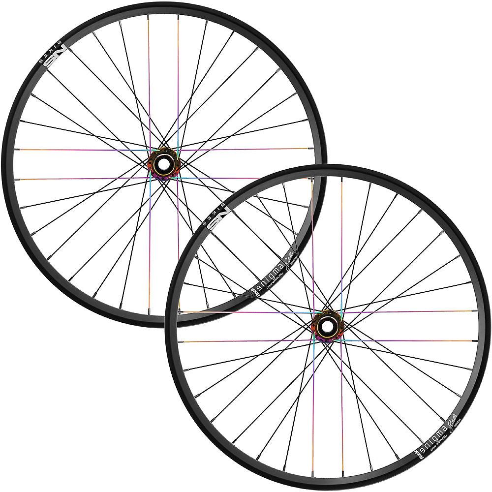 NS Bikes Enigma Rock MTB Wheelset - Oilslick - Shimano, Oilslick
