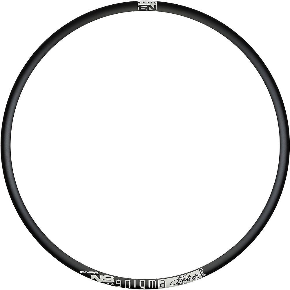 NS Bikes Enigma Rock Mountain Bike Rim - Black-White - 32H, Black-White