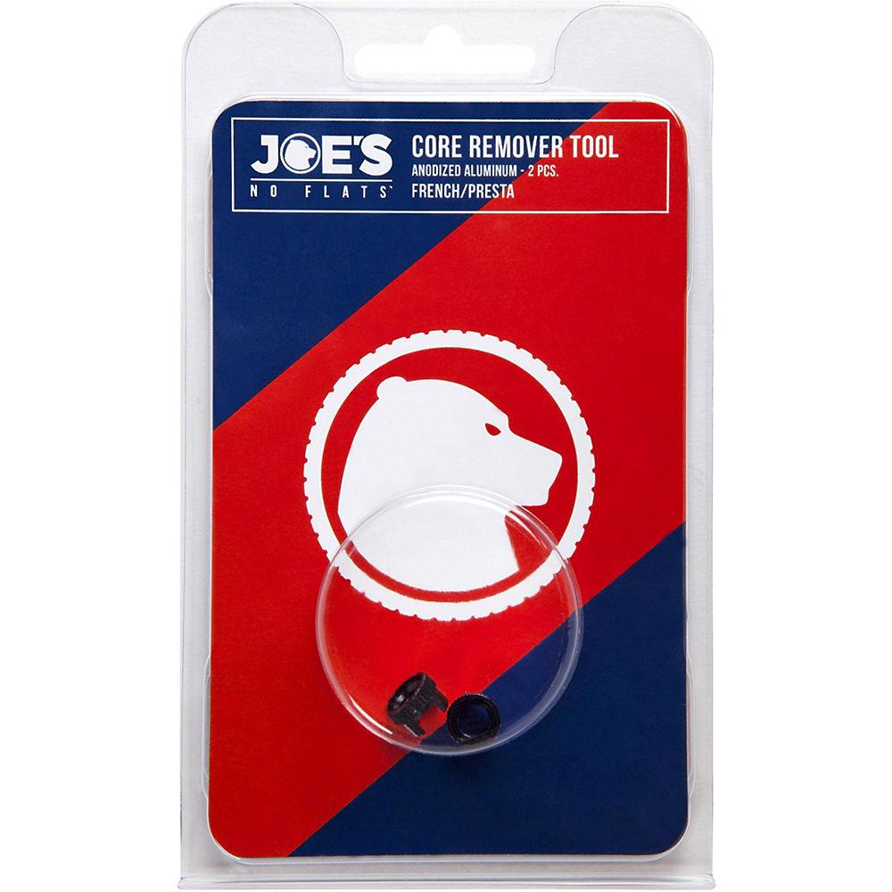 Joe's No Flats Valve Core Removal Tool - Pack 2 - Negro, Negro