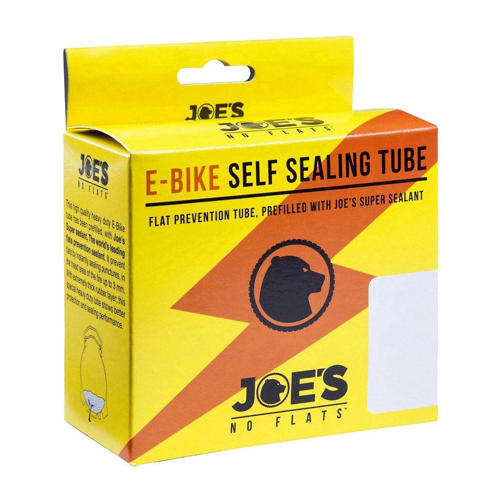 Joes No Flats Self Sealing Mtb Tube - Presta 48mm - Black - 28  Black