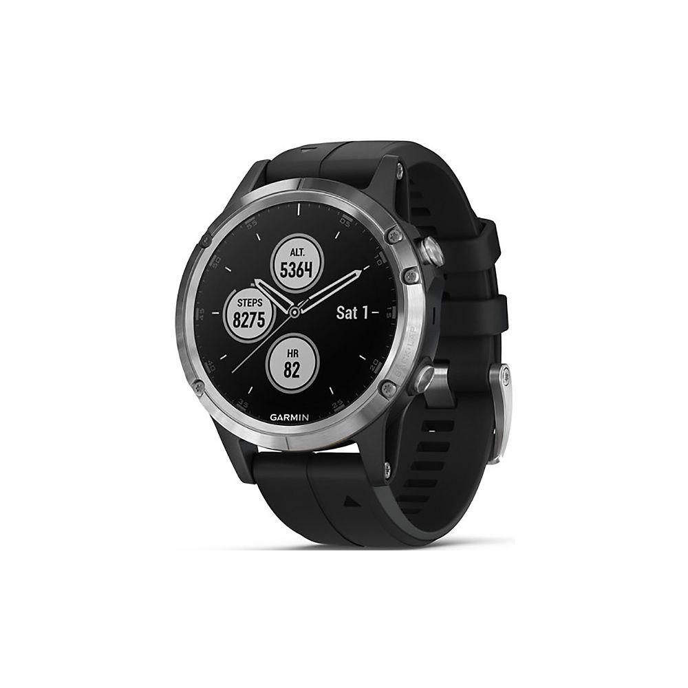Garmin Fenix 5 Plus GPS Watch 2018 Argent Chainreactioncycles