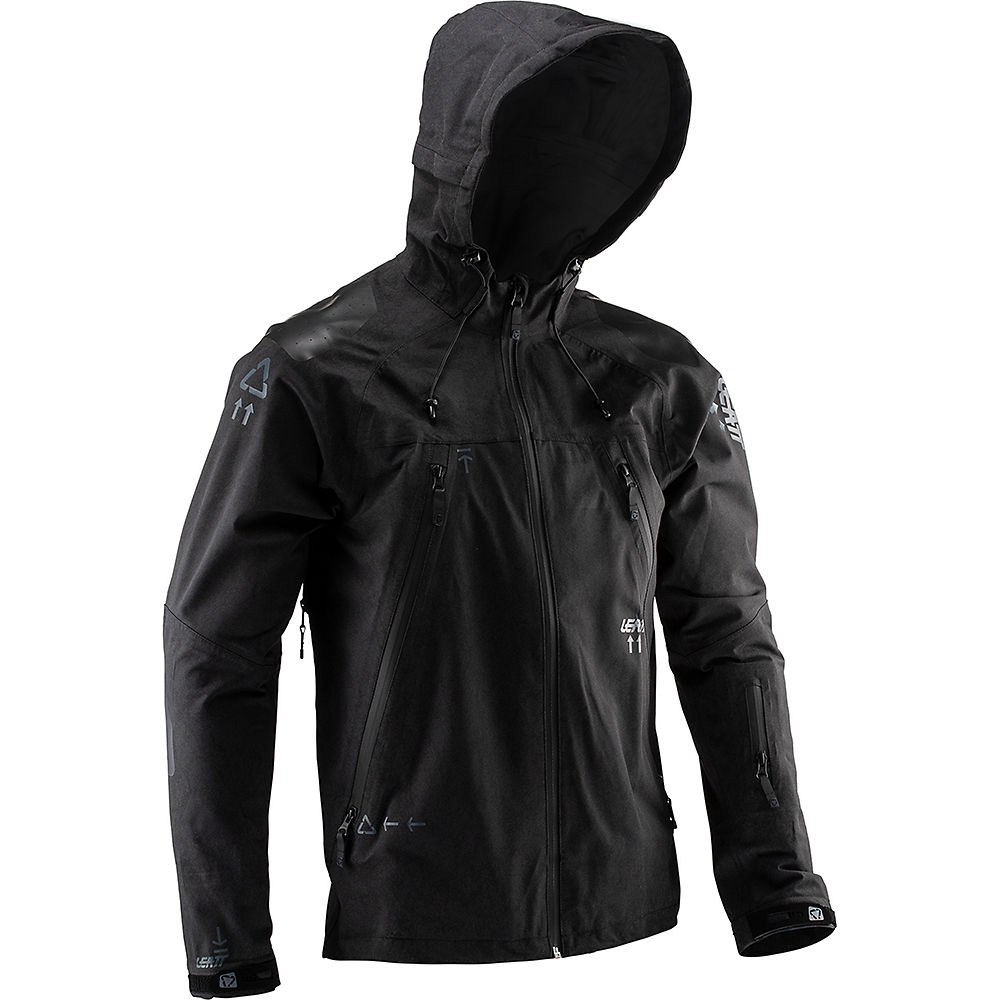 Leatt DBX 5.0 All Mountain Jacket – Black – S, Black