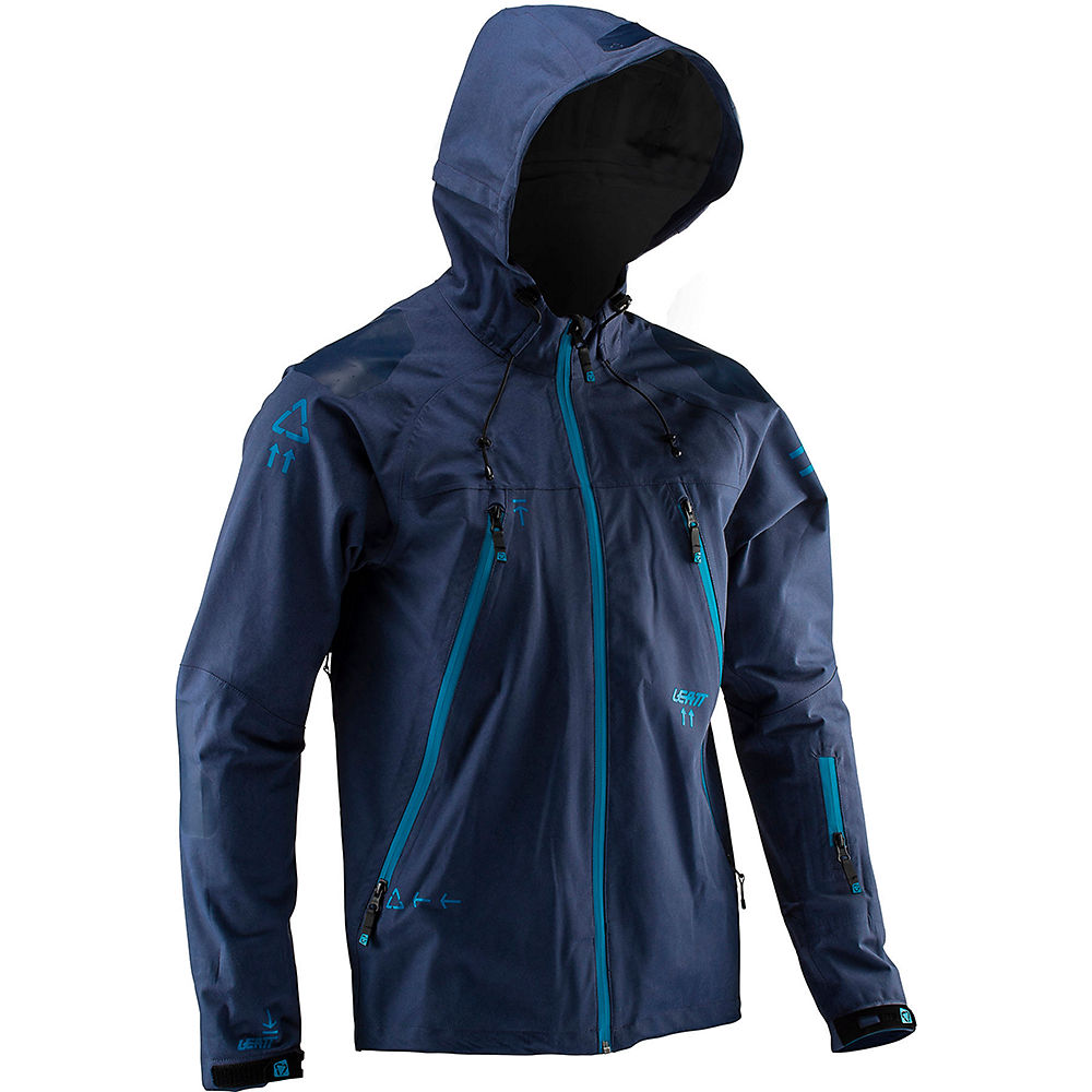 Leatt DBX 5.0 All Mountain Jacket – Blue – S, Blue