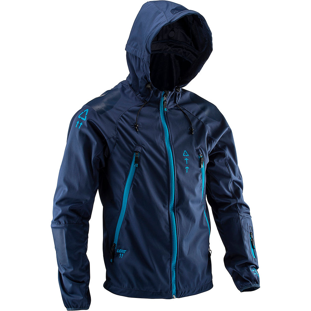 Leatt DBX 4.0 All Mountain Jacket – Blue – S, Blue