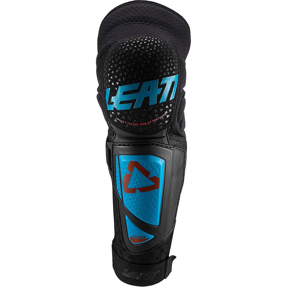 Leatt Knee & Shin Guard 3DF Hybrid EXT - Fuel-Black - XXL, Fuel-Black