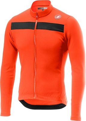 Castelli Puro 3 Long Sleeve Jersey - Naranja - M