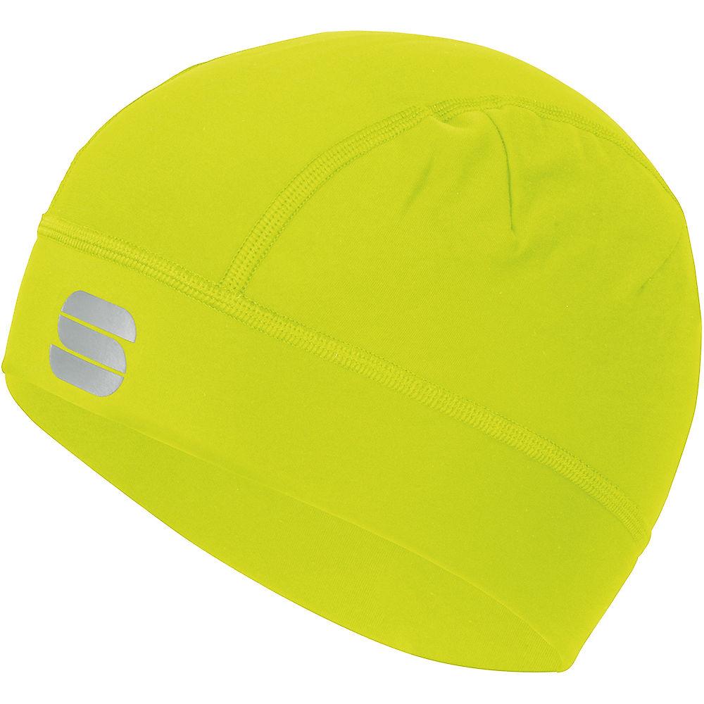 Sportful Edge Cap  - Yellow Fluo - One Size  Yellow Fluo