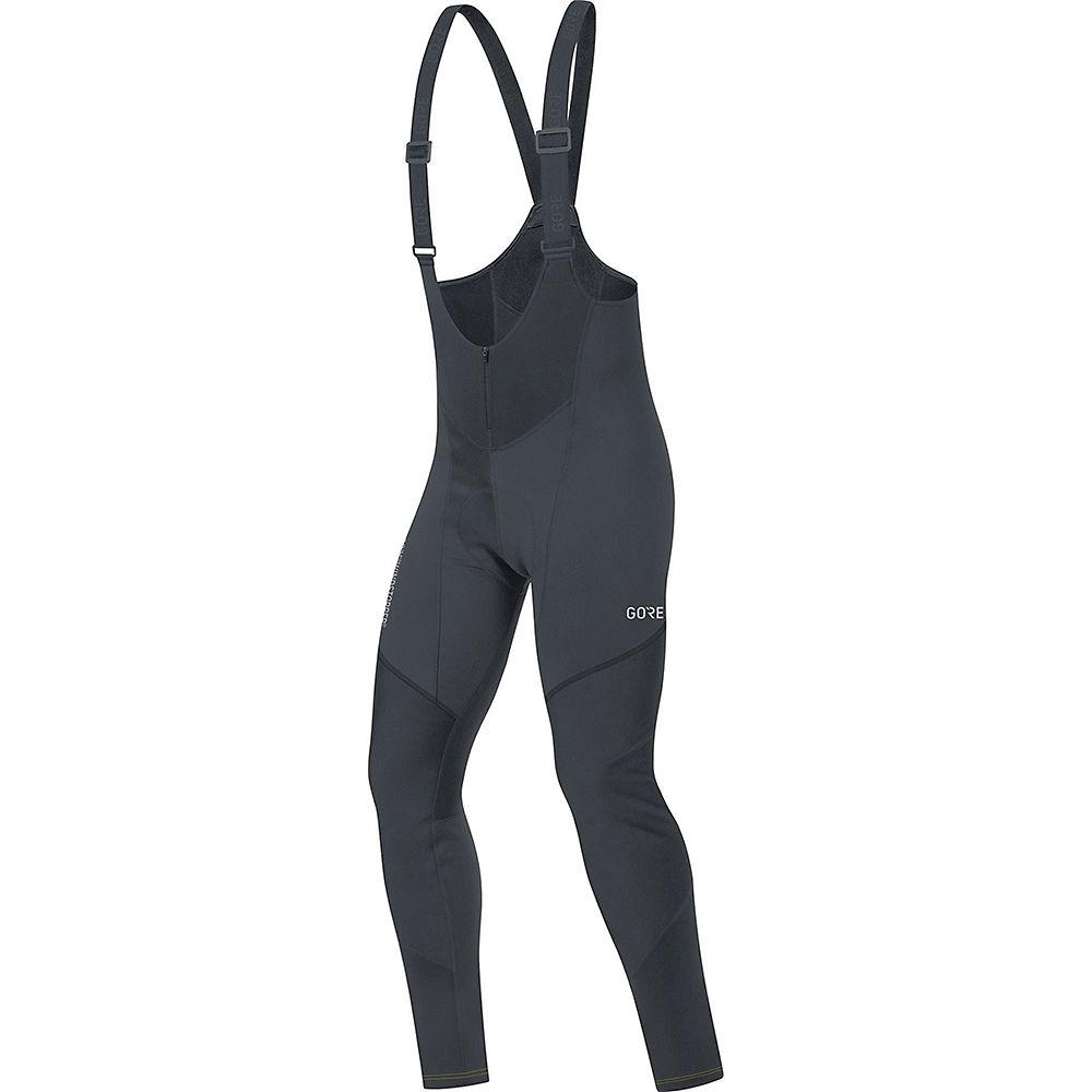 Gore Wear C3 Windstopper Bib Tights+ - Black - XXL, Black