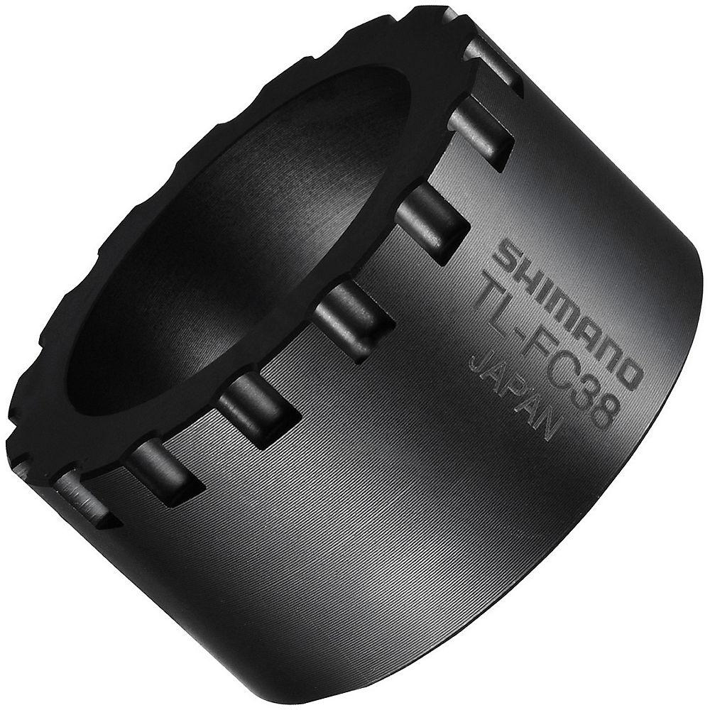 Shimano Tl-fc38 Adaptor Removal Tool - Black  Black