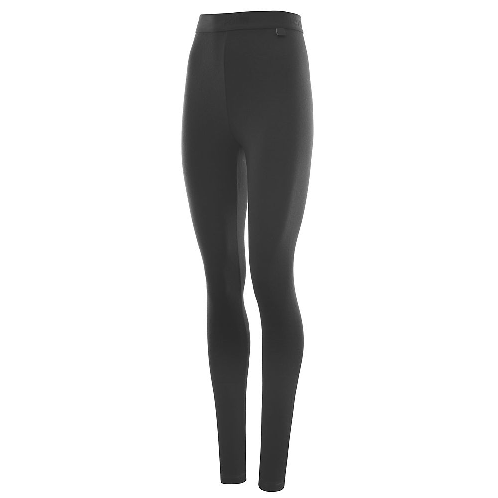 Fohn Merino Womens Leggings - Black - Uk 10  Black