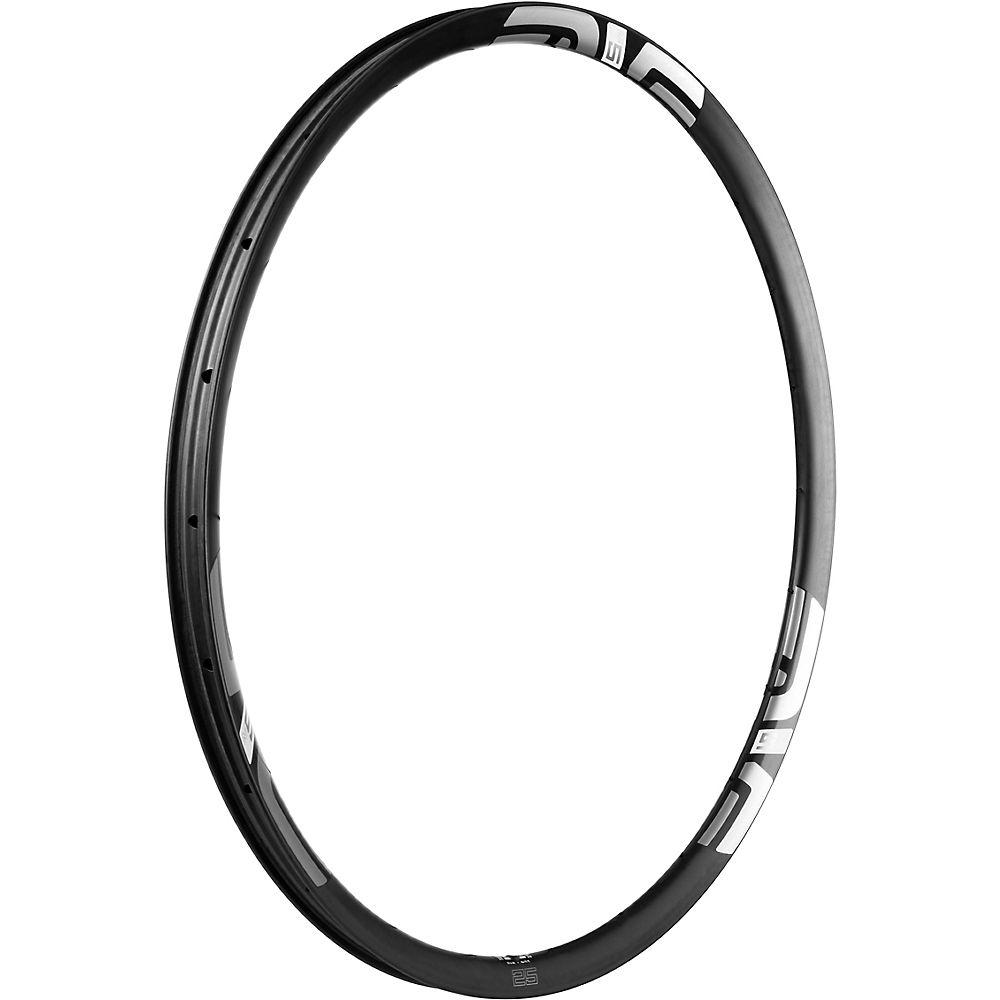Image of ENVE M525 Carbon MTB Rim - Noir - blanc - 24H, Noir - blanc