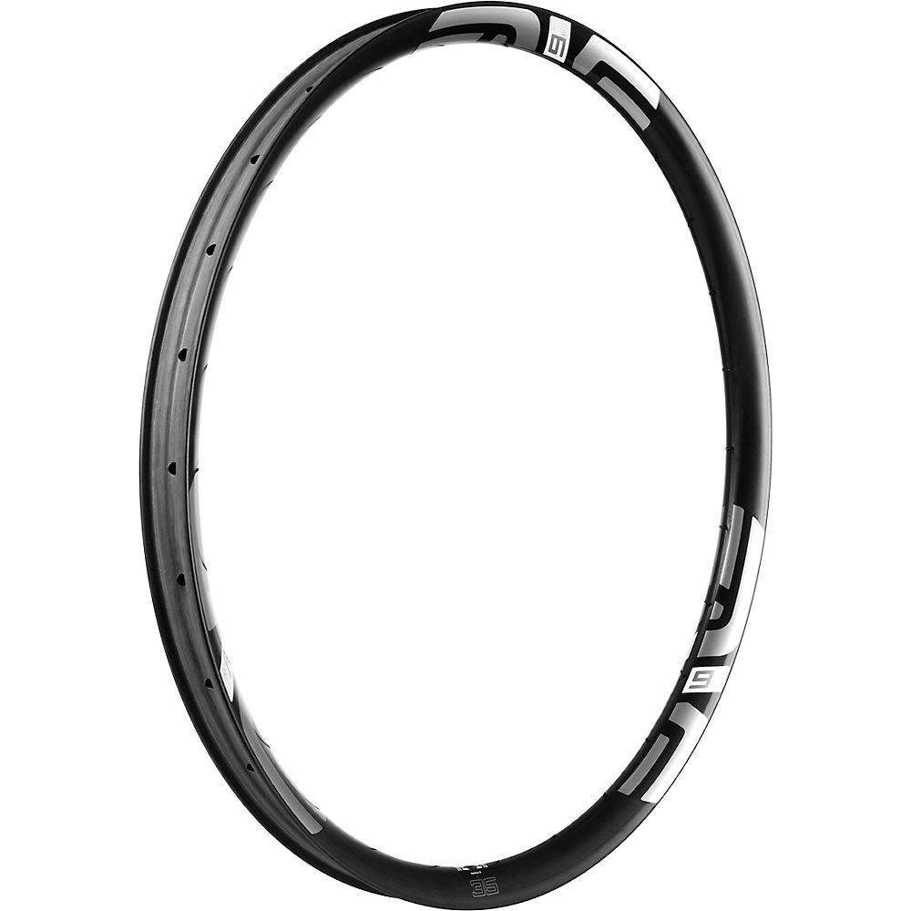 Image of ENVE M635 Carbon MTB Rim - Noir - blanc - 28H, Noir - blanc
