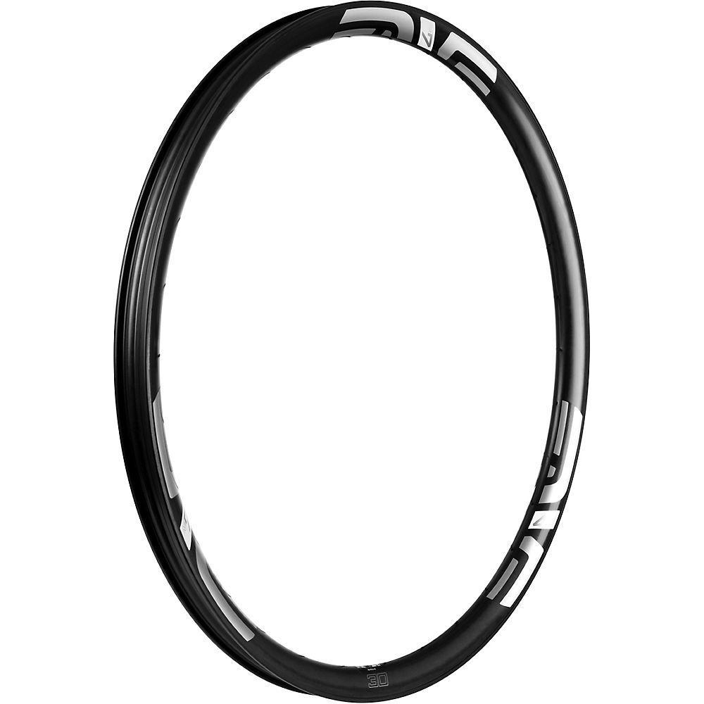 Image of ENVE M730 Carbon MTB Rim - Noir - blanc - 32H, Noir - blanc
