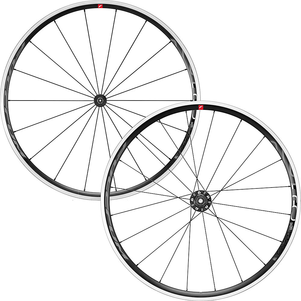 Fulcrum Racing 6 C17 Road Wheelset 2020 – Black-White – Shimano, Black-White