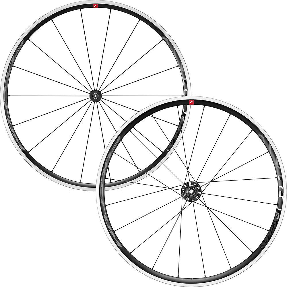 Fulcrum Racing 6 C17 Road Wheelset 2020 – Black-White – Shimano, Black-White