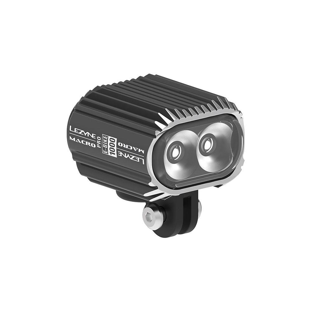Lezyne Macro Drive 1000 eBike Front Light - Black, Black