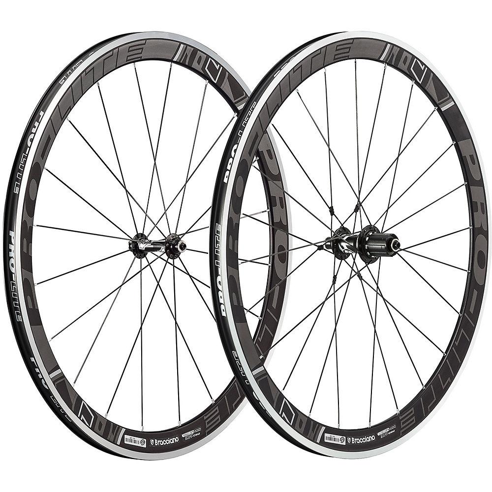 Image of Paire de roues de route Pro Lite Bracciano A42W Aero (Dark Label) - Gris foncé - 42mm, Gris foncé