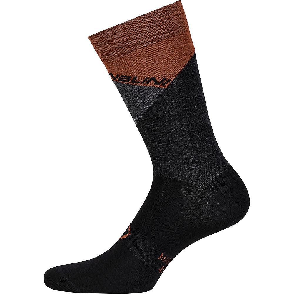 Image of Nalini AHW Crit Socks - Noir/Rouge - XS, Noir/Rouge